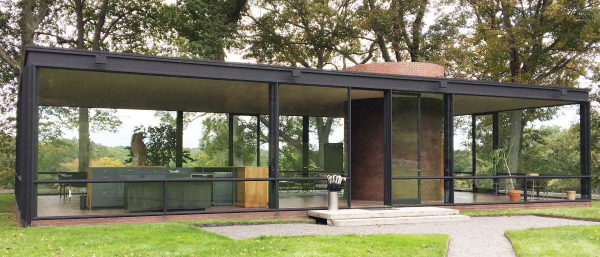 LiveNewCanaan Images glass house
