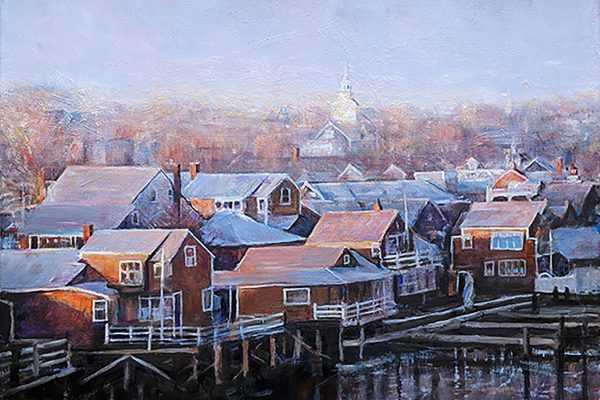 Nantucket Roofs by Healy Thomas