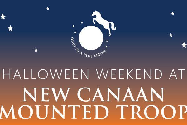 Halloween Weekend at New Canaan Mounted Troop