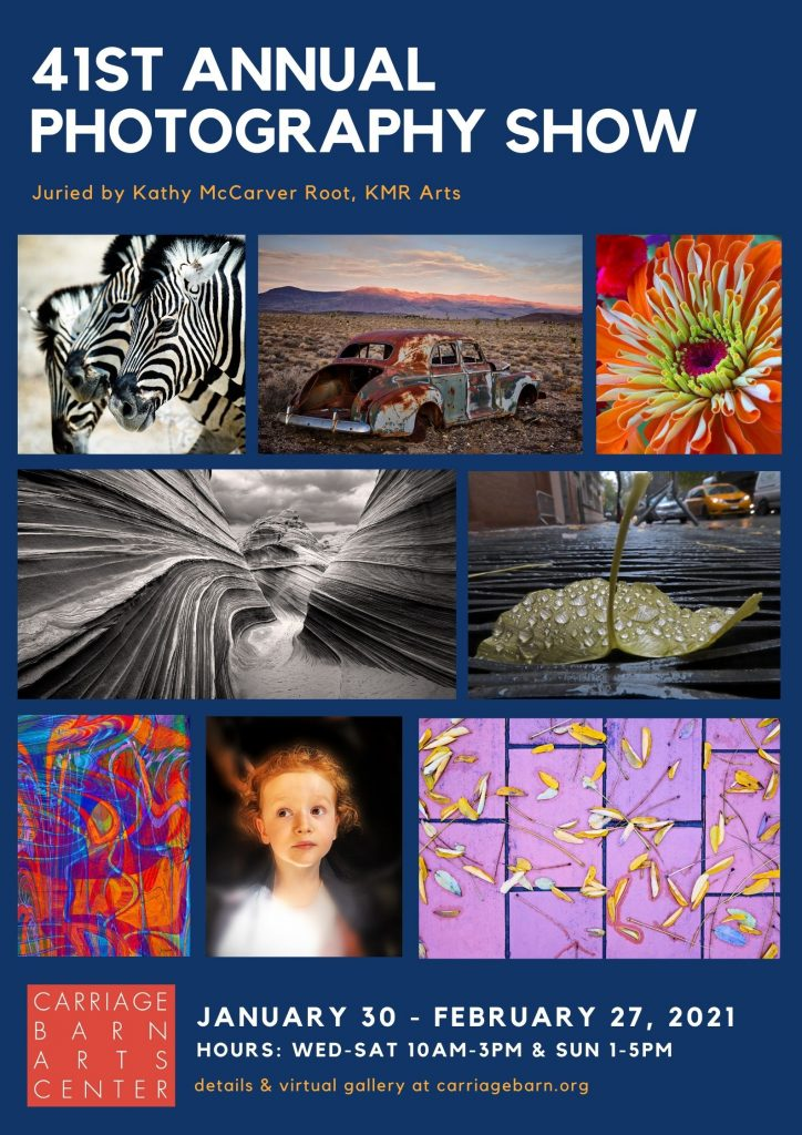 New Canaan Carriage Barn Arts Center 41st Annual Photography Show Poster
