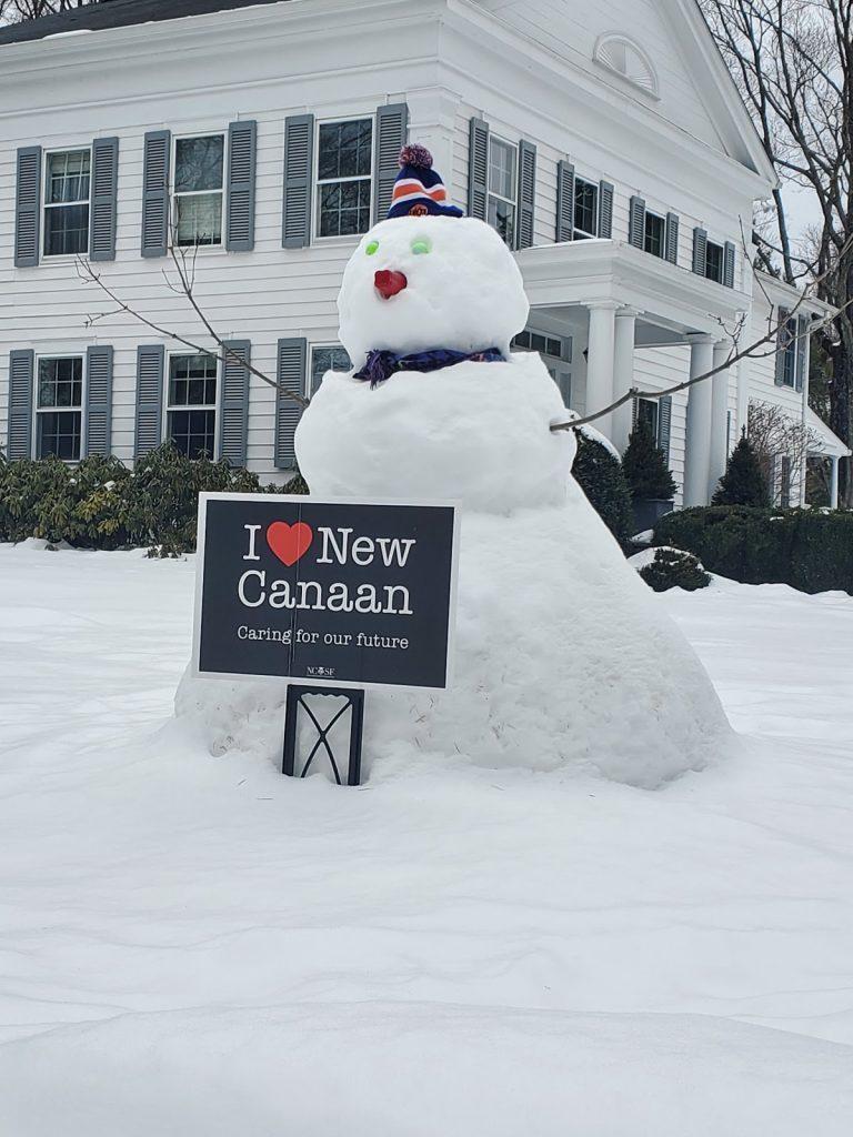 I Love New Canaan Snowman - LiveNewCanaan