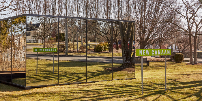 New Canaan New Library Mirror House