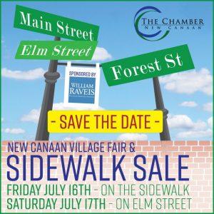 New Canaan Sidewalk Sale New Canaan Sidewalk Sales