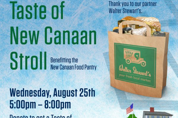 live new canaan taste of new canaan stroll with Food Pantry